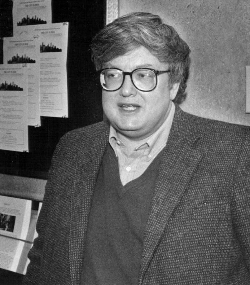 Roger Ebert -- generous colleague, legendary critic, gallant man. Photo: John Preito, Denver Post Via Getty Images / Denver Post