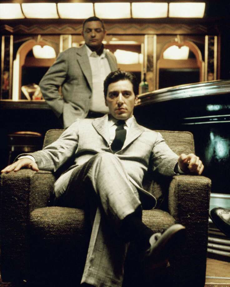 "Al Pacino as Don Michael Corleone sits in an armchair in a publicity still issued for the mafia drama, ""The Godfather Part II,"" 1974. The movie, directed by Francis Ford Coppola, was arguably one of the best sequels in history. Photo: Silver Screen Collection, Getty Images / TM, ¨ & Copyright © 2003 By Paramount Pictures.  All Rights Reserved."