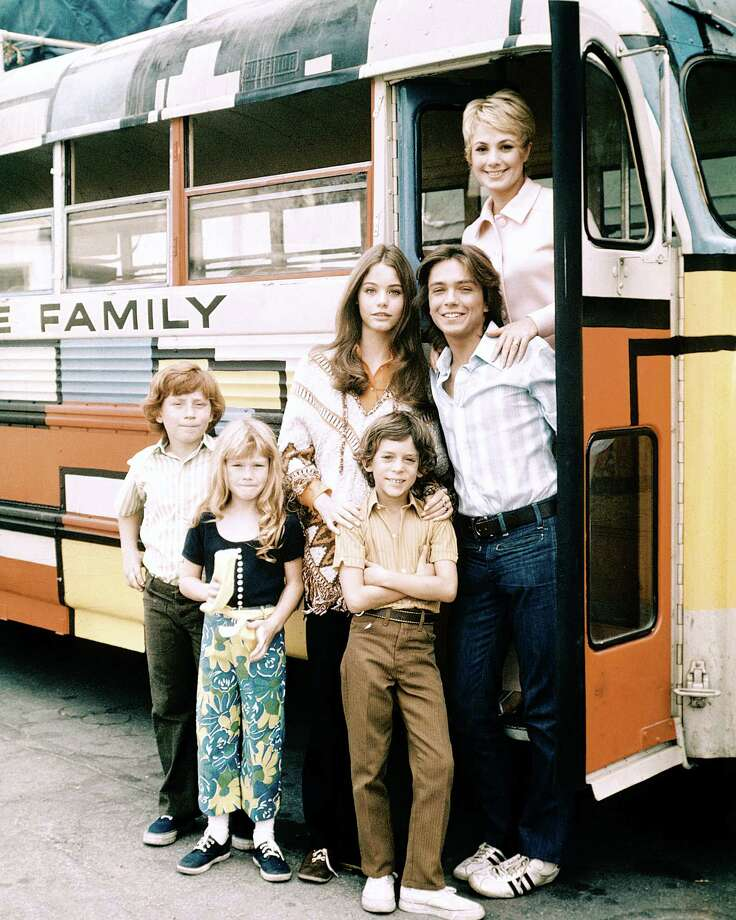 "The cast of TV sitcom ""The Partridge Family,"" circa 1971. Clockwise, from top right: Shirley Jones, David Cassidy, Jeremy Gelbwaks, Suzanne Crough, Danny Bonaduce and Susan Dey. The singing family's TV run only lasted four years, but launched teen heartthrob David Cassidy's solo career for the rest of the decade and beyond. Photo: Silver Screen Collection, Getty Images / 2013 Getty Images"