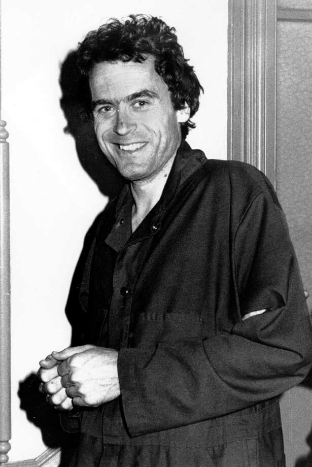 Serial killer Ted Bundy is seen in 1977. Although he's thought to have earlier victims, the first victim connected to Bundy, University of Washington student Karen Sparks, was attacked and survived Jan. 4, 1974. Photo: Associated Press / 1977 AP