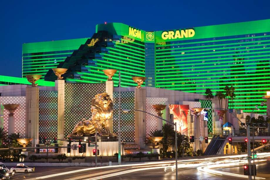 9. MGM Grand Hotel and Casino.Apparently, who checks into Vegas doesn't stay in Vegas, since this resort placed ninth on Facebook's U.S. check-in list. Photo: Richard I'Anson, Getty Images/Lonely Planet Images