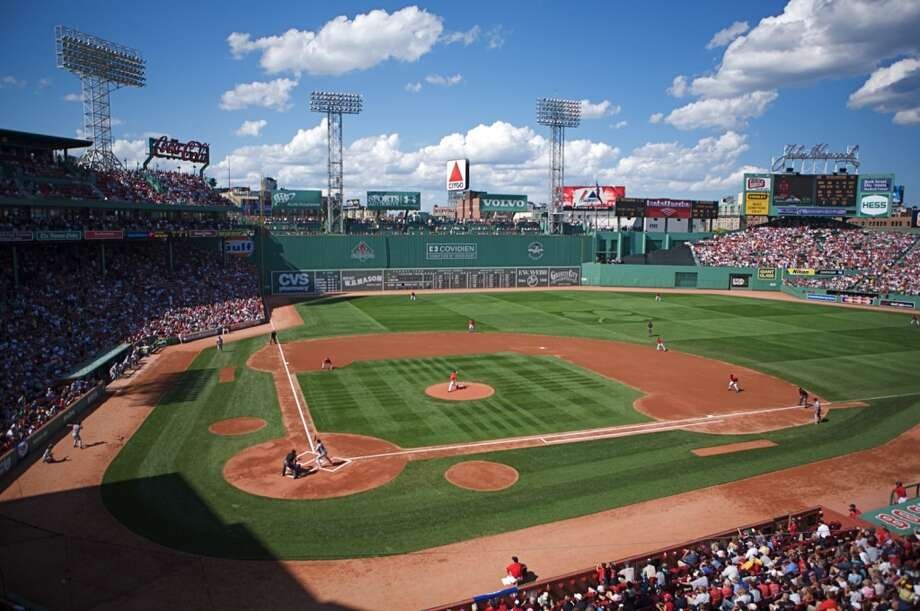 "8. Fenway Park, Boston. Home to the Green Monster and the 2013 World Series champions, the Boston Red Sox, this stadium proved ""Boston strong"" among Facebook check-ins. Photo: Jared Vincent , Flickr"
