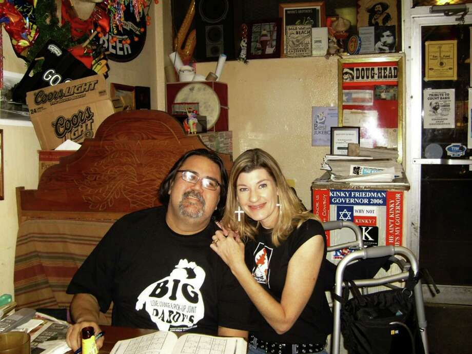 Barbara Wolfe and her husband, Steve Silbas, owned and operated the storied café and live roots music spots Casbeers on Blanco Road and Casbeers at the Church. Photo: Claude Ascolese / Courtesy Photo