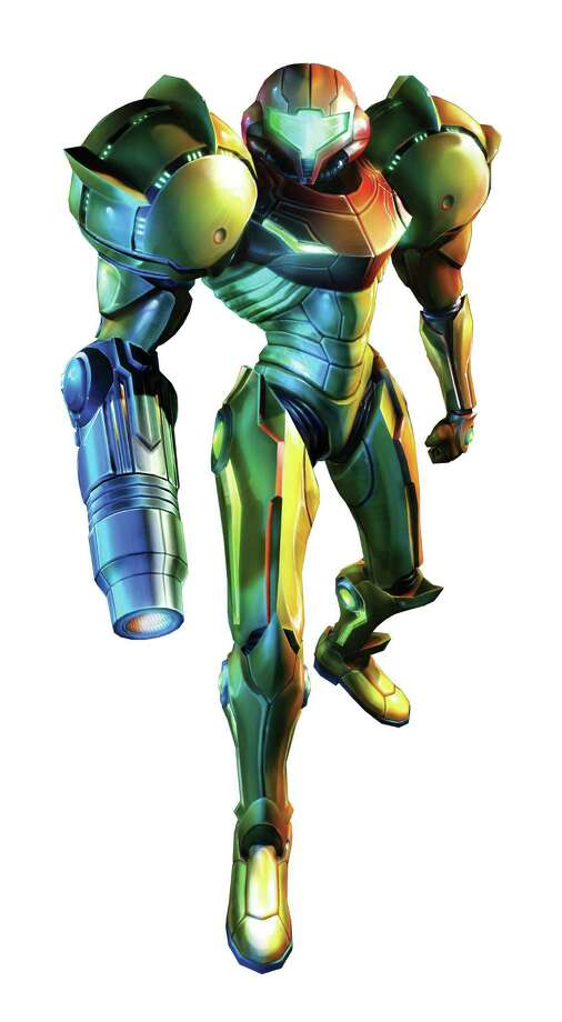 "Heroine Samus Aran in a still from 2007's Metroid Prime 3: Corruption for Wii. Super Metroid often appears of ""Best Games of All Time"" lists. Photo: Anonymous, PRNewsFoto/Nintendo Co., Ltd. / AP2007"