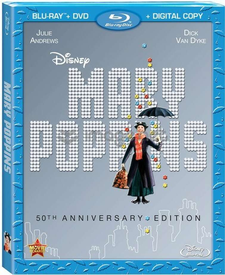 Mary Poppins BD cover Photo: Disney, 2013