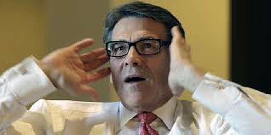 Hair isn't the only thing Governor Perry should be known for. It seems more times than not, he's photographed talking with his hands.