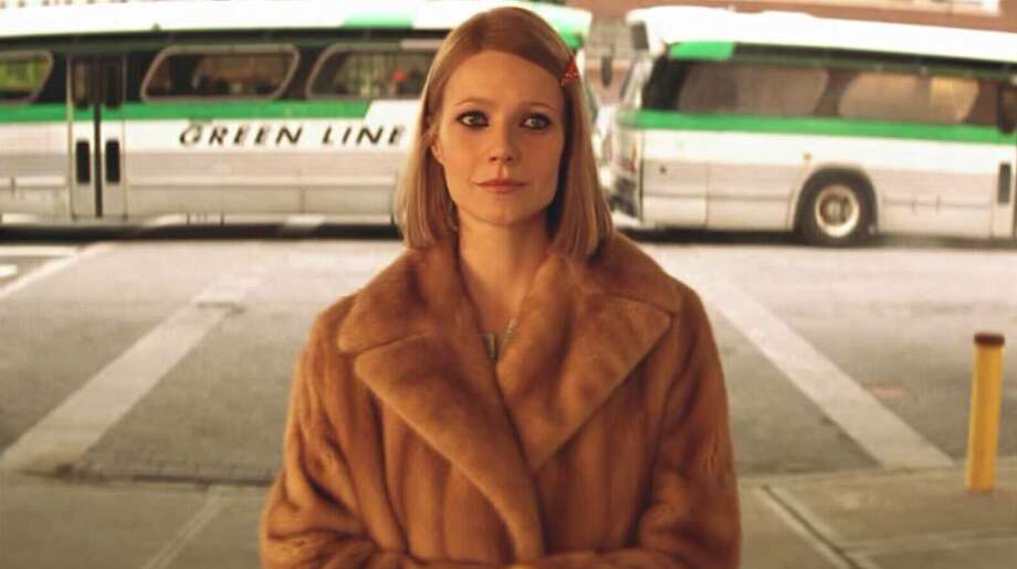 "The Royal Tenenbaums (2001): When Margot Tenenbaum (Gwyneth Paltrow) steps off the bus and into the arms of Eli Cash (Owen Wilson) while Nico's mournful ""These Days"" plays. Watch the clip. Photo: Buena Vista Pictures"