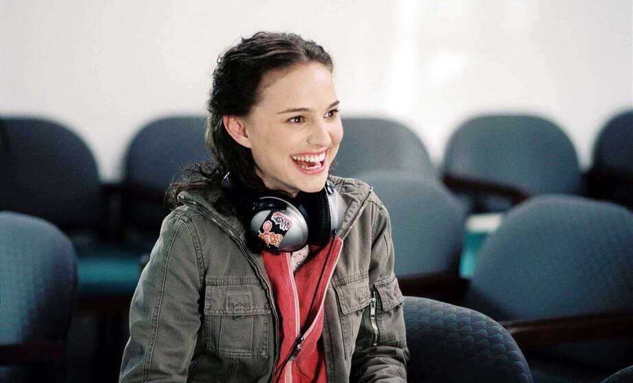"Garden State (2004): When Sam (Natalie Portman) attempts to convince Andrew (Zach Braff) that the Shins' ""New Slang"" will change his life while sitting in a waiting room.  Watch the clip. Photo: Fox Searchlight"