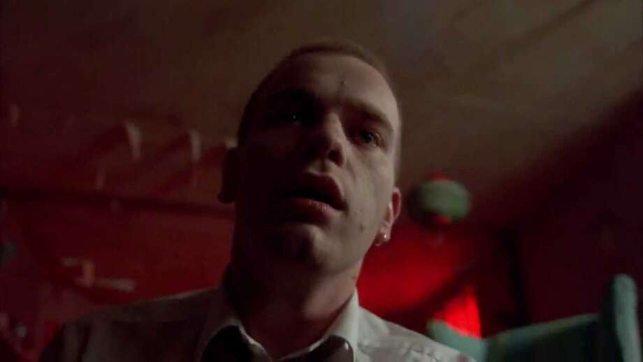 "Trainspotting (1996): When heroin addict Mark Renton (Ewan McGregor) overdoses to the lovely sounds of Lou Reed's ""Perfect Day."" Photo: PolyGram"