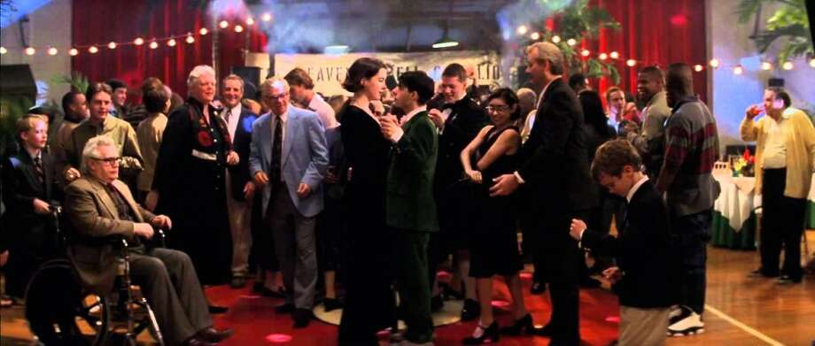 "Rushmore (1998): When the play ends and Max Fischer (Jason Schwartzman) and Rosemary Cross (Olivia Williams) share a dance to the Faces' ""Ooh La La.""    Watch the clip. Photo: Buena Vista Pictures"