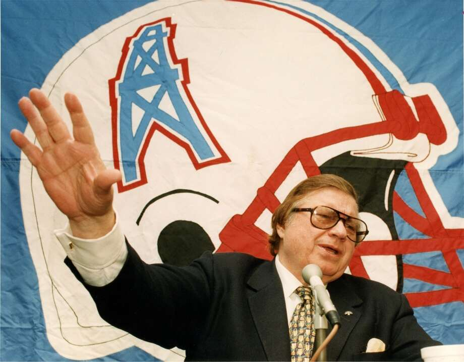 By1993, Bud Adams had owned the Oilers for 33 seasons. Photo: File Photo, Houston Chronicle