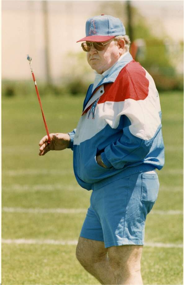 Buddy Ryan was the Oilers defensive coordinator in 1993. There were several reasons for his short stay in Houston. Photo: File Photo, Houston Chronicle