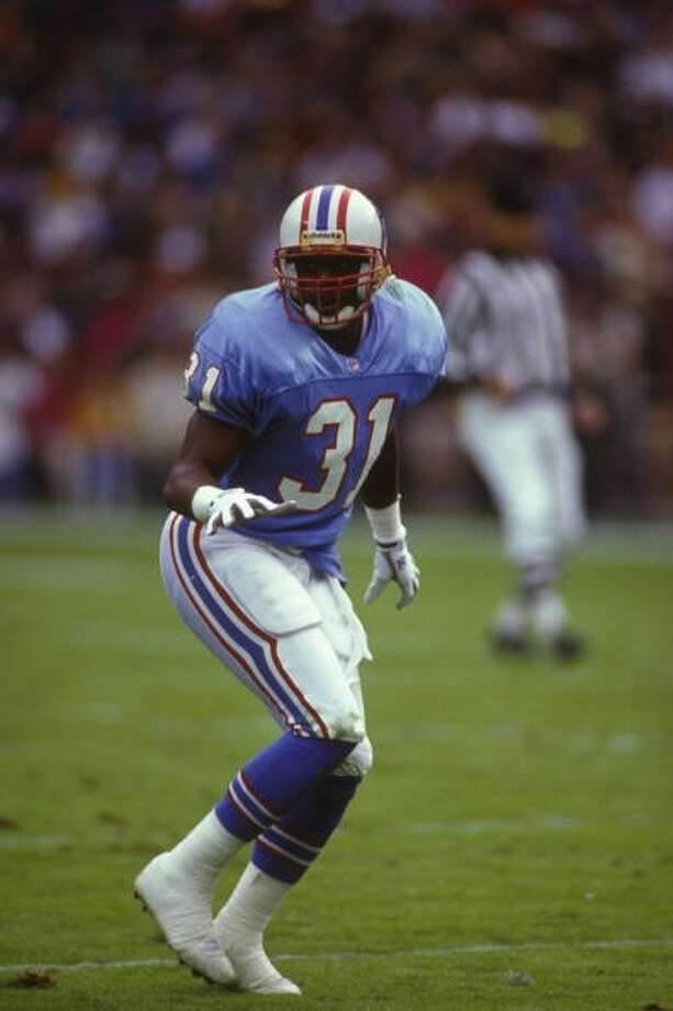 Free safety Marcus Robertson was a First Team All-Pro selection in 1993 as he had 82 tackles and team-best seven interceptions. Photo: Mitchell Layton, Getty Images