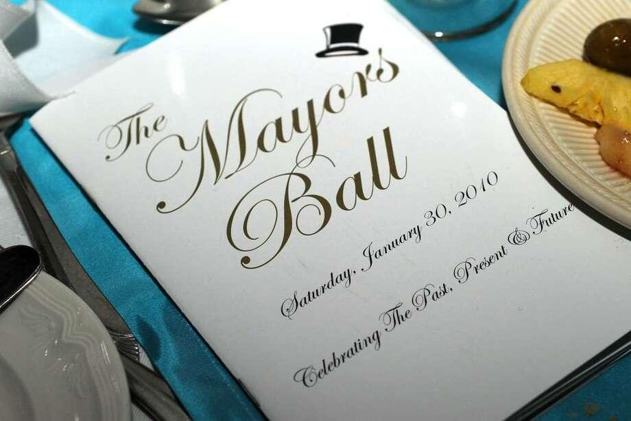 The Mayor's Ball, January 30, 2010 Photo: Carol Kaliff / The News-Times