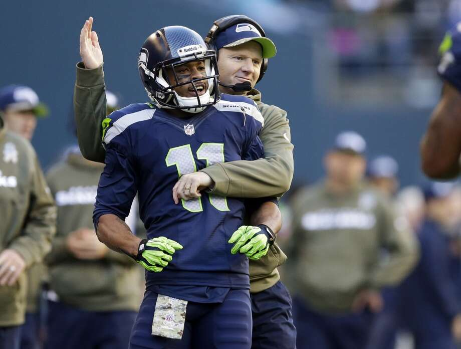 Darrell Bevell, offensive coordinator, Seattle Before running the Seahawks' offense and coaching Russell Wilson, he was the coordinator at Minnesota and Green Bay. Photo: Ted S. Warren, Associated Press