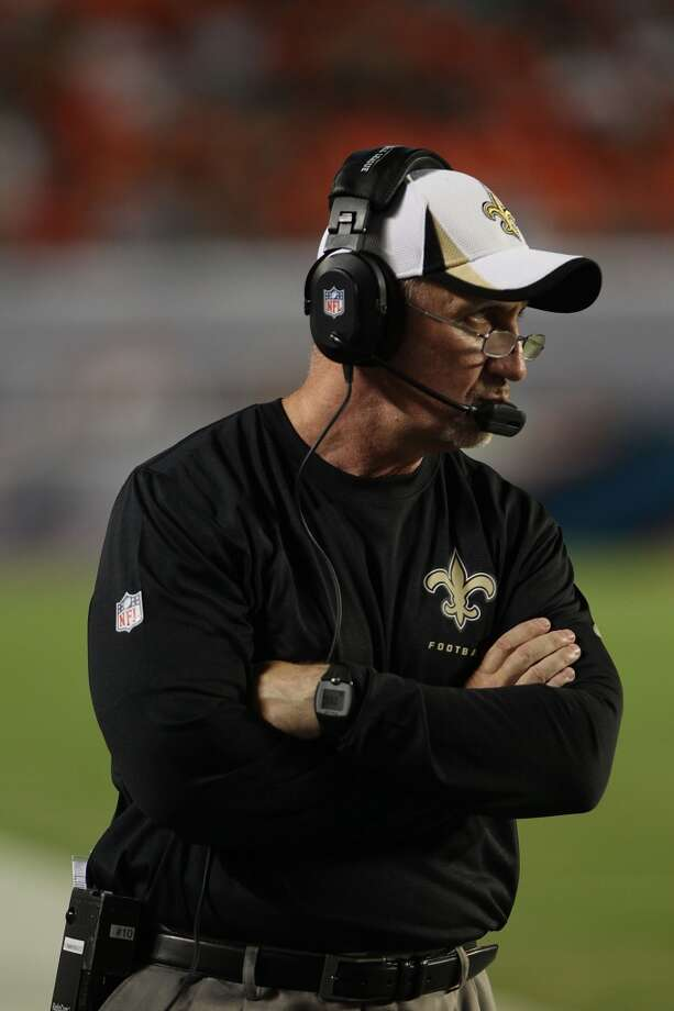 Pete Carmichael, offensive coordinator, New Orleans This is his eighth season with the Saints, and they've had one of the league's most prolific offenses. Photo: Marc Serota, Getty Images