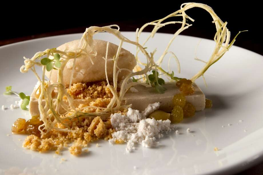 Peanut butter semifreddo is shown at Uchi Houston. (Brett Coomer / Houston Chronicle ) Photo: Brett Coomer, Houston Chronicle