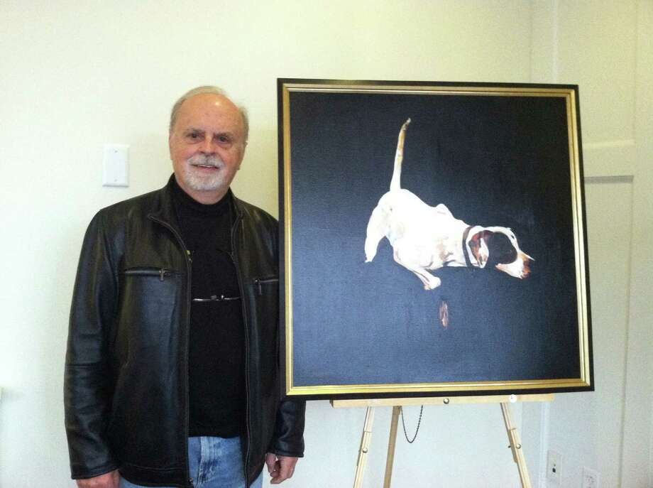 Dennis Stevens' artwork will be on display through the end of December at Darien Rowayton Bank, 1001 Post Road, Darien. Photo: Contributed Photo, Contributed / Darien News Contributed