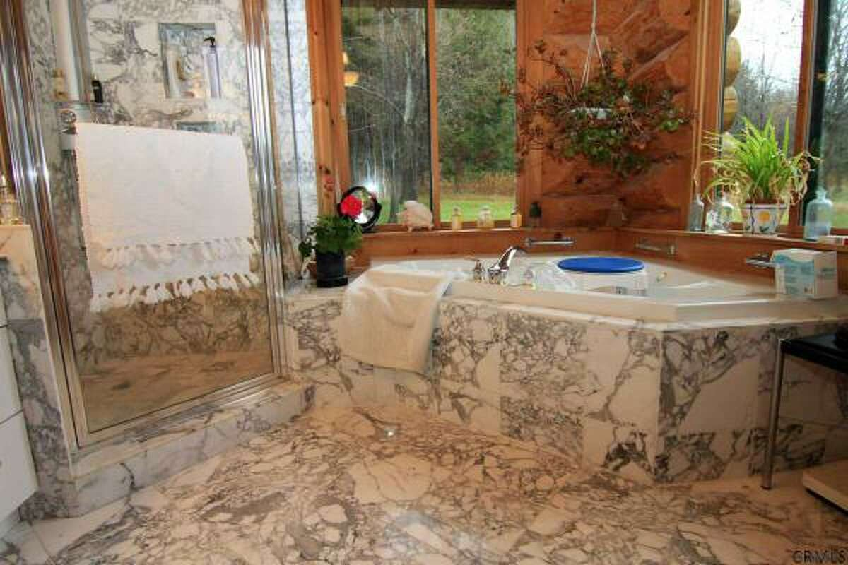 You could be relaxing in style in one of these bathrooms in homes currently on the market. Rensselaerville. 667 County Rt. 353 listed at $1,600,000. View this listing.