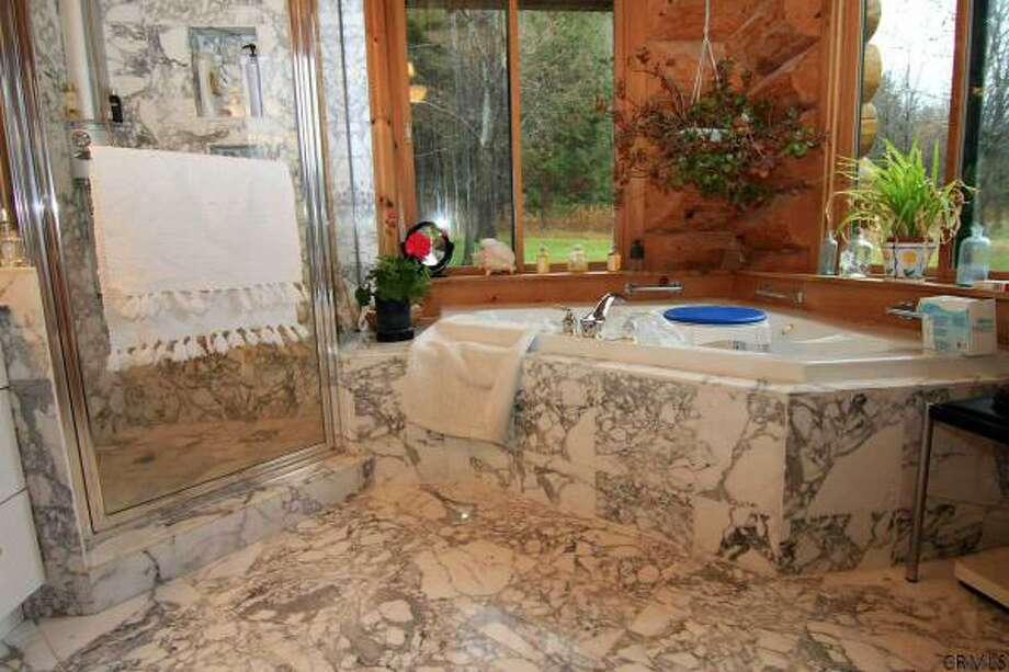 You could be relaxing in style in one of these bathrooms in homes currently on the market.Rensselaerville. 667 County Rt. 353 listed at $1,600,000. View this listing. Photo: Times Union