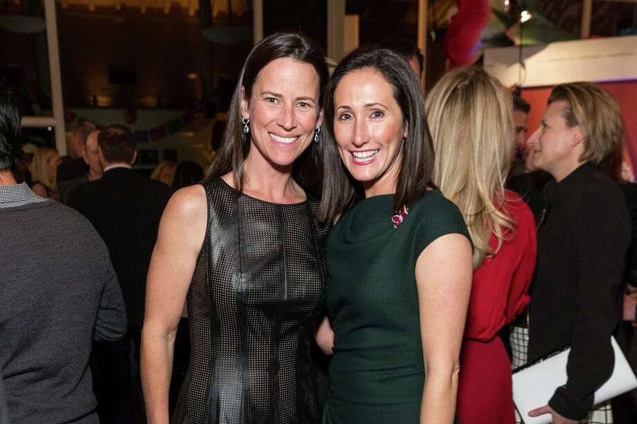 Whitney Chiate and Kathryn Freeman at the Jingle & Mingle Designer Wreath Auction on December 5, 2013. Photo: Drew Altizer Photography/SFWIRE, Drew Altizer Photography / ©2013 by Drew Altizer, all rights reserved