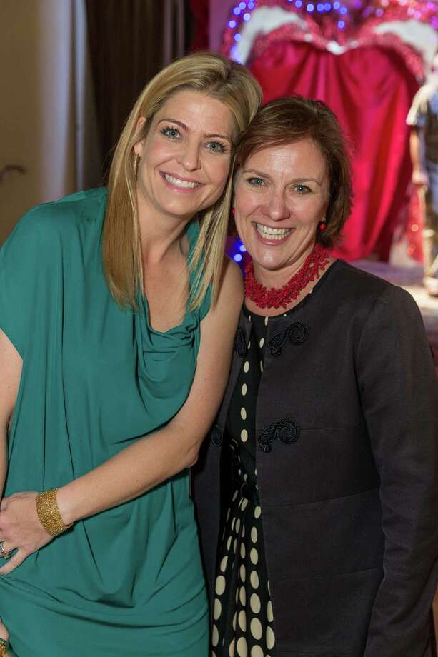 Jenna Hunt and Lee Gregory at the Jingle & Mingle Designer Wreath Auction on December 5, 2013. Photo: Drew Altizer Photography/SFWIRE, Drew Altizer Photography / ©2013 by Drew Altizer, all rights reserved