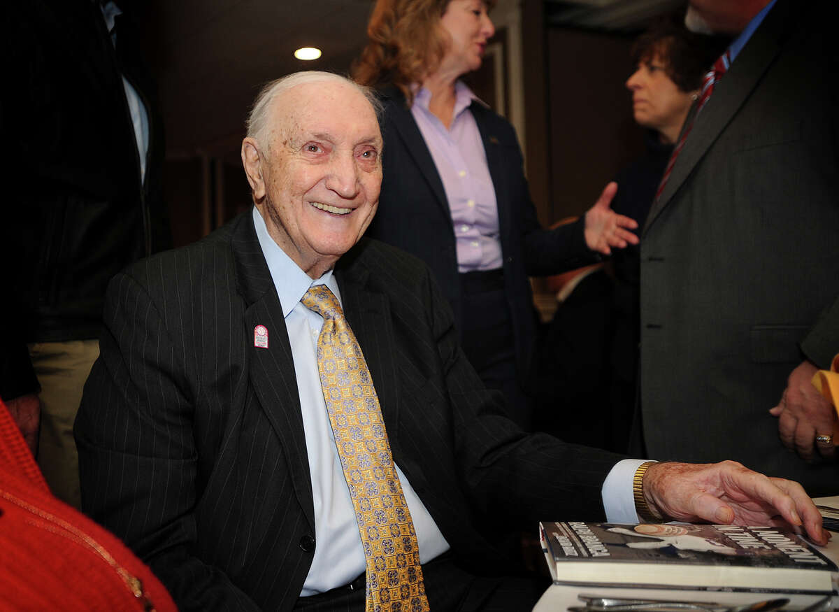 Former Brooklyn Dodger pitcher Ralph Branca, famous for surrendering Bobby Thomson's