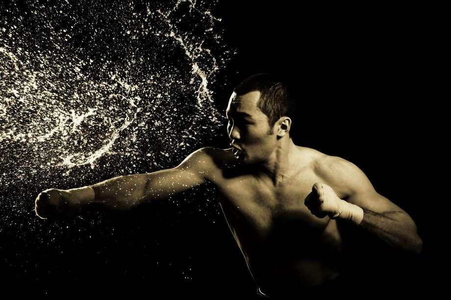 Boxer Beibut Shumenov artsy shot Photo: Courtesy Photo / Copyright:A salahi
