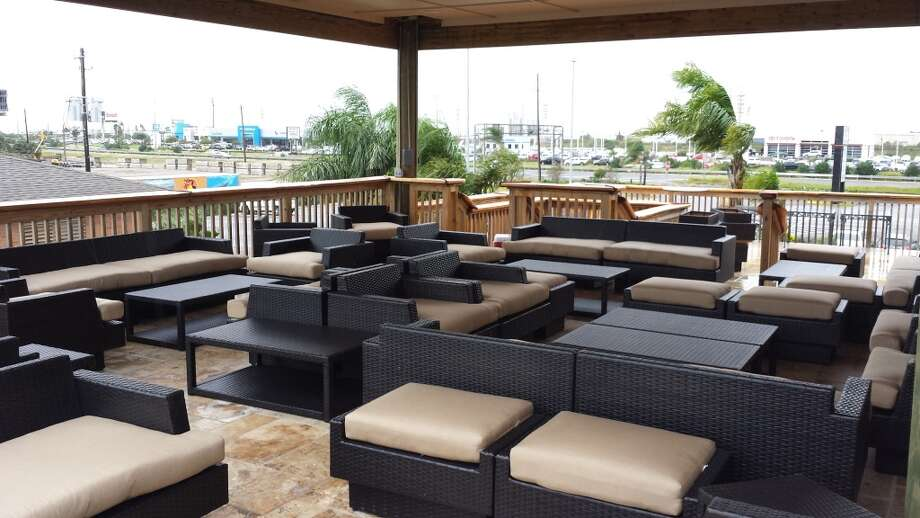 The outdoor terrace and adjacent patio will have a casual atmosphere. Photo: Number 13