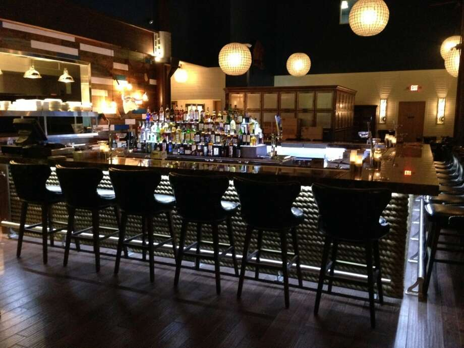 Inside Number 13, a new steak and seafood restaurant in Galveston, the vibe will be more upscale. Photo: Number 13