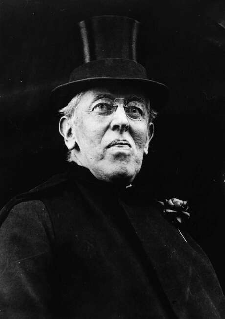 Woodrow Wilson, the 28th President of the United States, wrote passionate love letters to his second wife. His latest biographer says the passion was too much after awhile. Photo: Hulton Archive, Getty Images / Hulton Archive