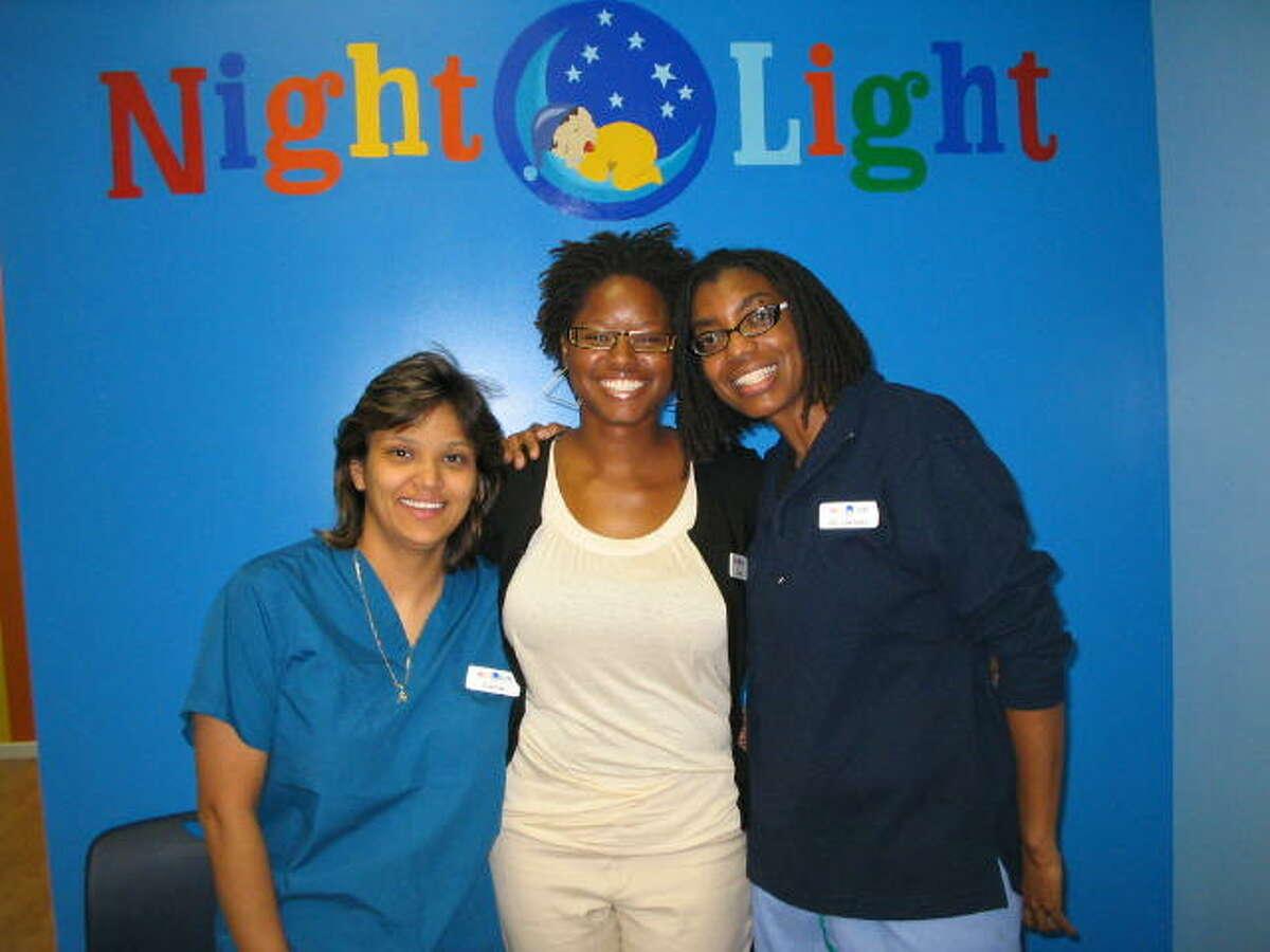 Founders of Nightlight Pediatric Urgent Care are Connie Cazares, left, Zawadi Bryant and Anastasia Gentles.Founders of Nightlight Pediatric Urgent Care are Connie Cazares, left, Zawadi Bryant and Anastasia Gentles.
