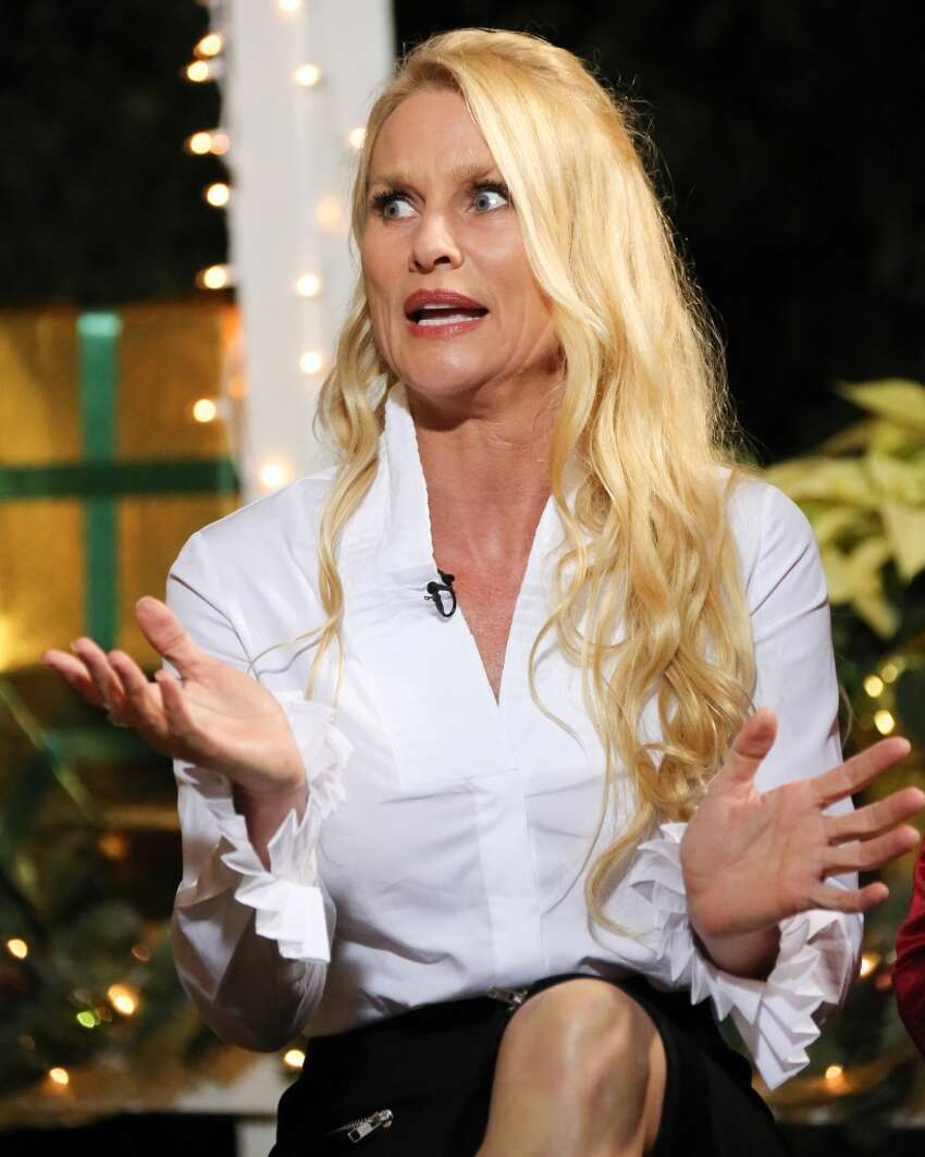 Nicollette Sheridan, best known for