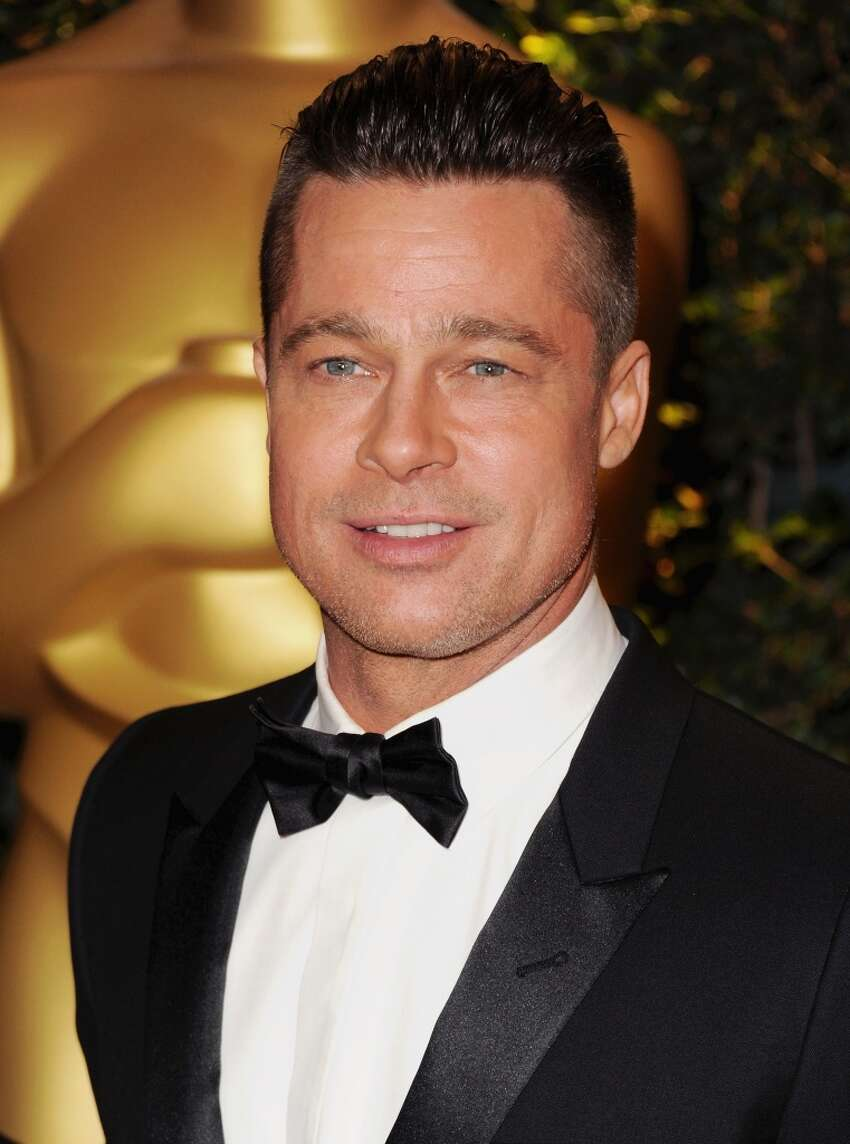 Brad Pitt will turn 50 on Dec. 18. He's pictured on Nov. 26, 2013.