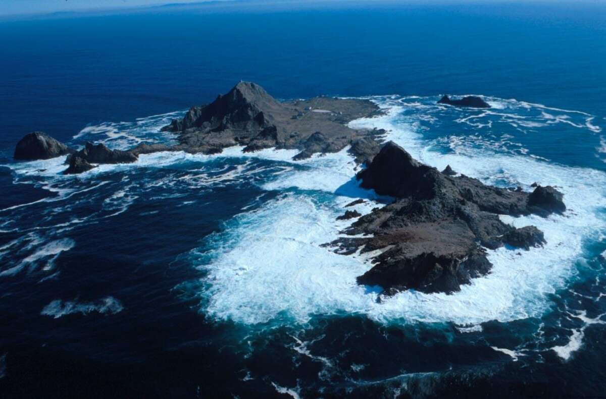 The Farallon Wilderness is located on the Farallon Islands, which are 30 miles off the coast of San Francisco. The wilderness is managed by the Fish and Wildlife Service.