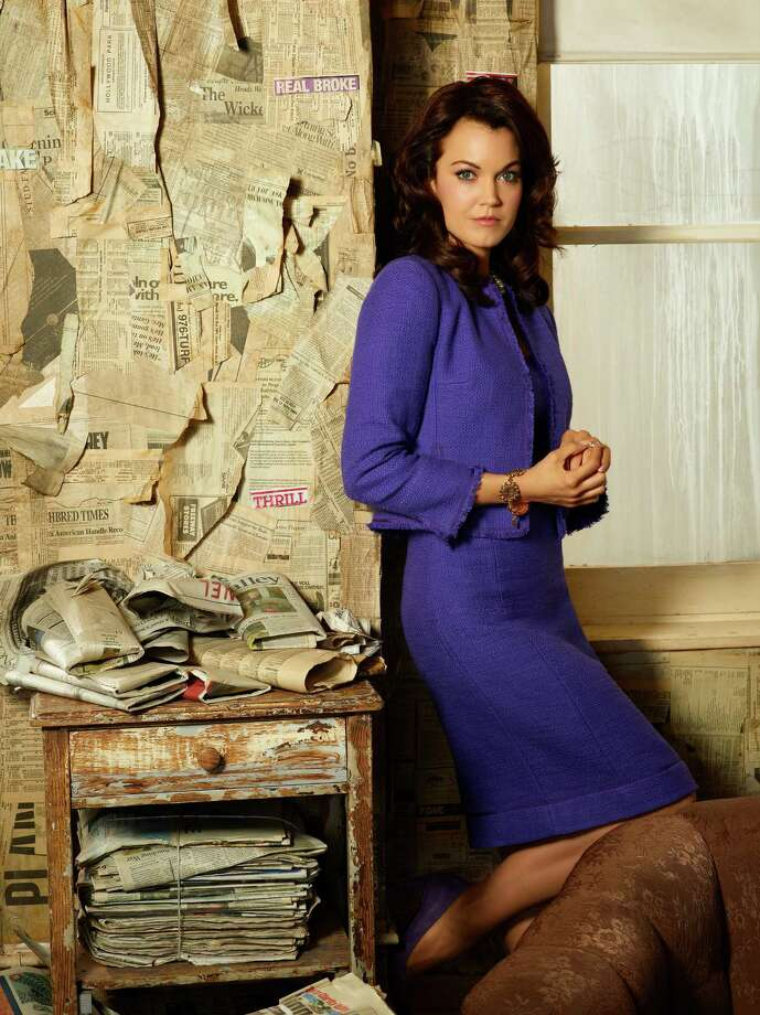 "Bellamy Young stars as first lady Mellie Grant in ""Scandal."" Photo: Craig Sjodin, Getty Images / 2013 American Broadcasting Companies, Inc."