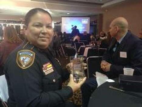 Harris County sheriff's deputy Garza honored - Houston ...