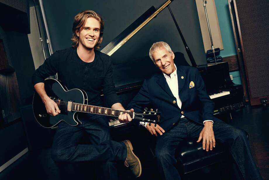 "This publicity photo released by Richard Kornberg & Associates for the new musical ""What's It All About? Bacharach Reimagined,"" shows co-conceiver Karl Riabko, left, and composer Burt Bacharach. The show is currently performing off-Broadway at New York Theatre Workshop in New York. (AP Photo/Richard Kornberg & Associates, Eric Ray Davidson) ORG XMIT: CAET672 Photo: Eric Ray Davidson / Richard Kornberg and Associates"