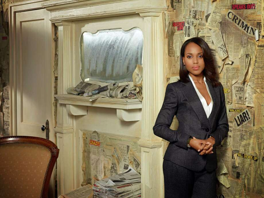 "Kerry Washington as Olivia Pope on ""Scandal."" Photo: Craig Sjodin, Getty Images / 2013 American Broadcasting Companies, Inc."