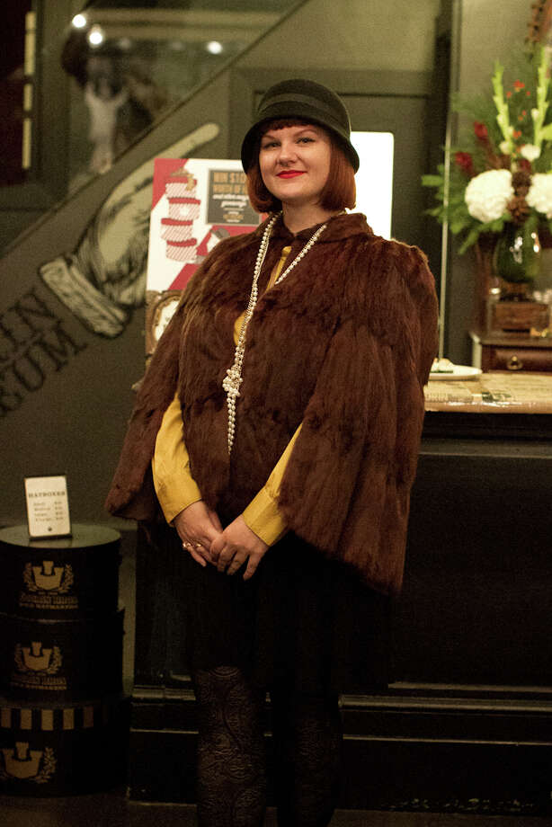 Goorin Bros. North Beach merchant Heather Shetrawski strikes a pose. The company has 28 store locations in the U.S., including several in San Francisco. Photo: Courtesy, Melissa De Mata