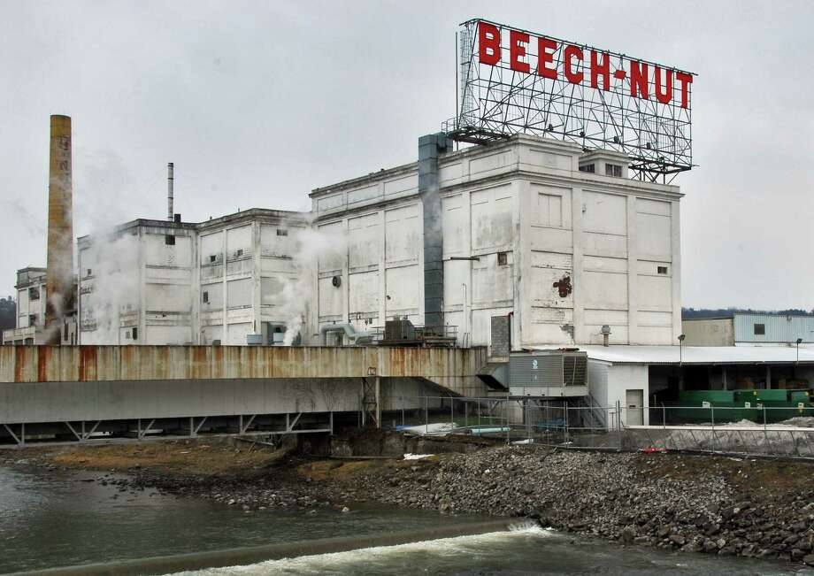 Times Union staff photo by John Carl D'Annibale:   A portion of the  Beechnut factory in Canajoharie Wednesday afternoon March 12, 2008.  FOR ANDERSON SUNDAY STORY Photo: John Carl D'Annibale / Albany Times Union