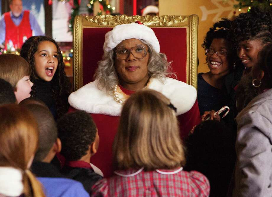 "Tyler Perry stars as 'Madea' in ""Tyler Perry's A Madea Christmas."" (Courtesy Charles Bergman/MCT) Photo: HANDOUT, HO / MCT"