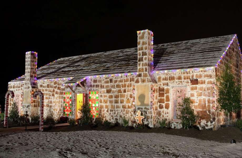 Traditions Club in Bryan has built the world's largest gingerbread 