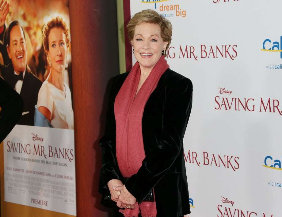"Actress Julie Andrews attends the Premiere of Disney's ""Saving Mr. Banks"" at Walt Disney Studios on December 9, 2013 in Burbank, California.  (Photo by Frederick M. Brown/Getty Images) Photo: Frederick M. Brown, Getty Images"