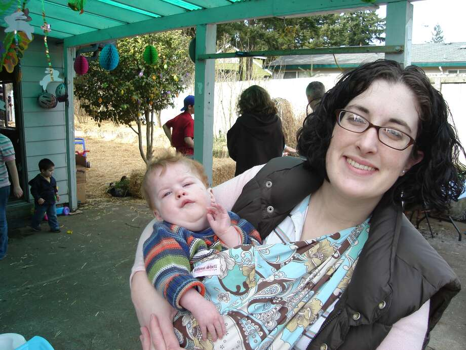 Oliver Wuth, pictured with his mother, Rhea.