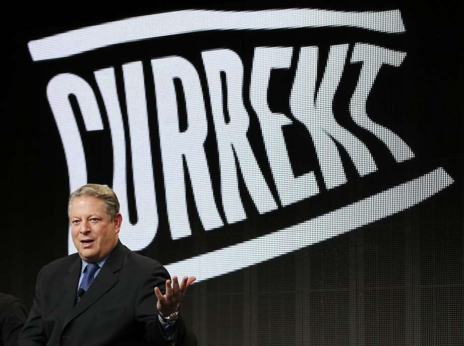 Current TV was launched in 2005, born from the minds of former Vice President Al Gore and businessman Joel Hyatt. Eight years later, they sold the network to Al Jazeera America.Related: Al Jazeera begins filling in broadcast schedule Photo: Danny Moloshok, Associated Press