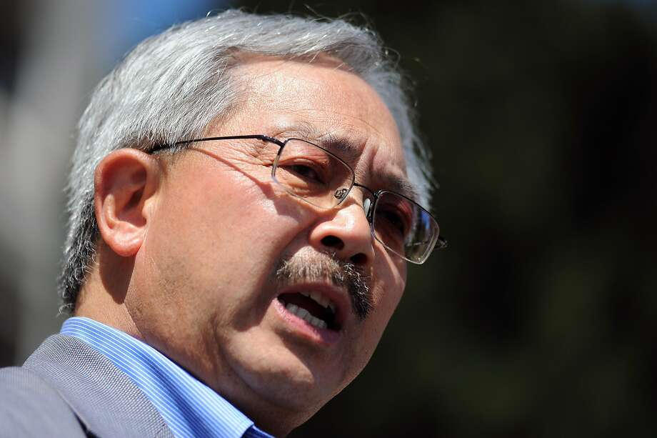 Mayor Ed Lee is working with a group of small-business owners, labor and community leaders on crafting a measure to put before voters in November. Photo: Michael Short, Special To The Chronicle