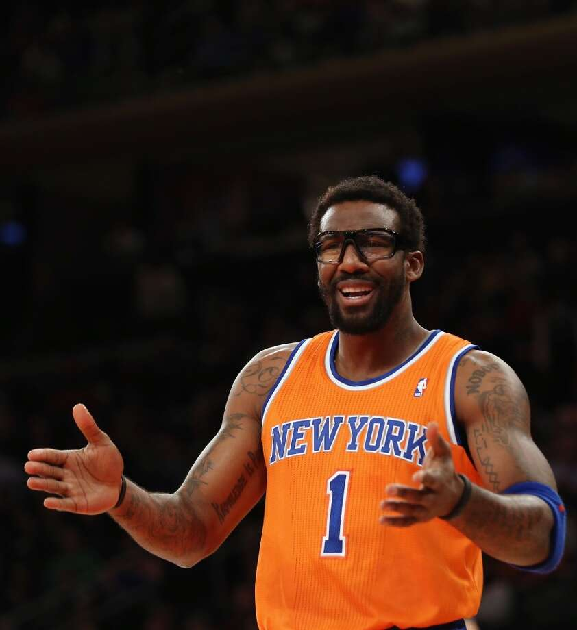 3. Amar'e Stoudemire  Team: New York Knicks  Position: Power forward  Money owed this season: $21,679,893 Photo: Bruce Bennett, Getty Images