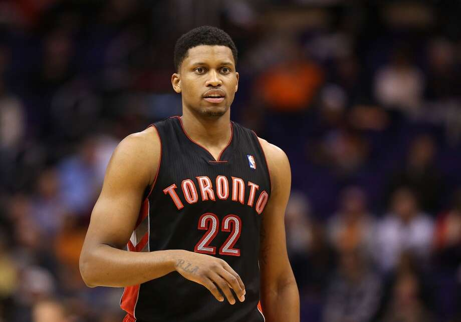 13. Rudy Gay  Team: Toronto Raptors  Position: Small forward  Money owed this season: $17,888,931 Photo: Christian Petersen, Getty Images