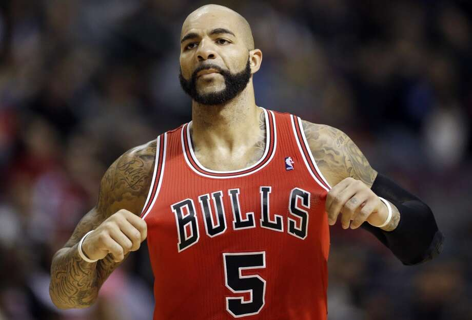 19. Carlos Boozer  Team: Chicago Bulls  Position: Center  Money owed this season: $15,300,000 Photo: Carlos Osorio, Associated Press